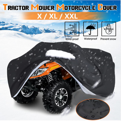 Lawn Mower Cover Waterproof Snowblower Cover Shade UV Protection Tractor Covers