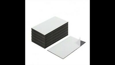 100 Brand New Self Adhesive Business Card Magnets