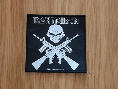 Iron Maiden - A Matter Of Life And Death(New) Sew On Patch Official Band Merch