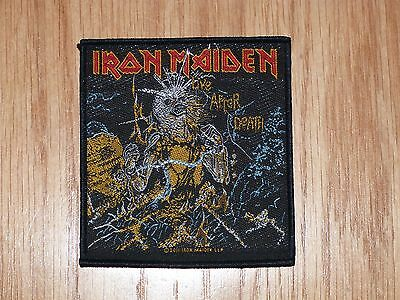 Iron Maiden - Live After Death  (New) Sew On Patch Official Band Merch