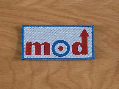 Mod - Logo (New) Sew On Patch Official Band Merch