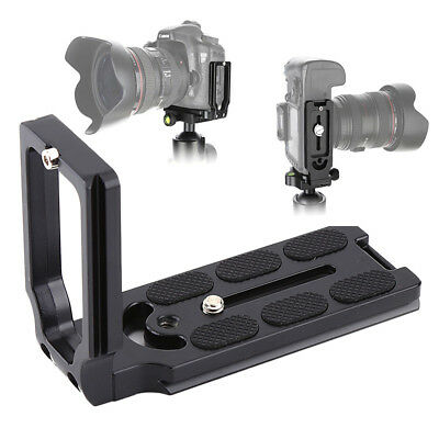 Universal Quick Release L Plate Bracket MPU-105 For Nikon Canon DSLR Camera
