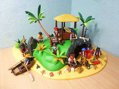 4073 Piratenschatzinsel Piraten Schatzinsel zu 4806 5135 pirates Playmobil 706