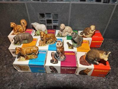 Wade Whimsies 10 Boxed Different Whimsies  (Perfect)