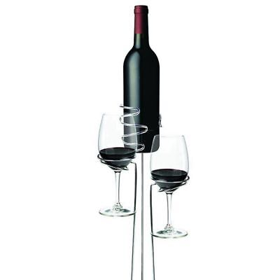 1X(3Pcs/set Outdoor Wine Glass Bottle Holder Stake Set For BBQ Garden Picni D0B4