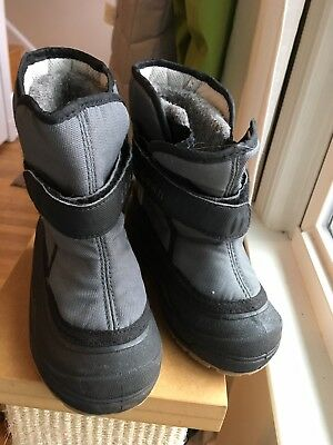 cd52a4d20 LL BEAN TODDLER Lined Winter Snow Boots Size 8 Boys Or Girls ...