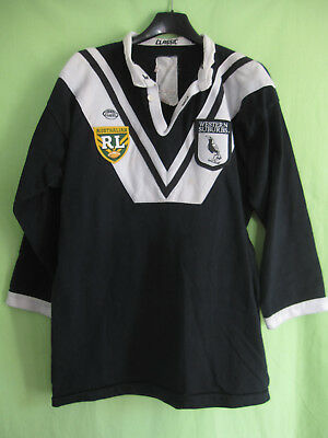 Maillot Rugby Western Suburbs Magpies Vintage Australie Maggies Jersey - L