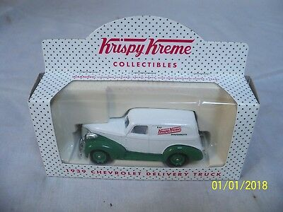 New in Box Vintage 2000 Krispy Kreme 1939 Chevrolet Delivery Truck