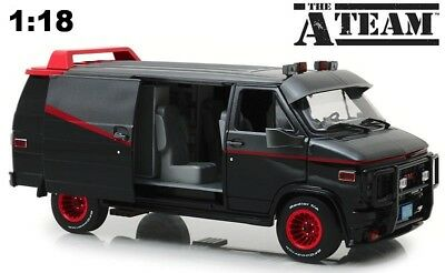 Greenlight 1/18 The A Team 1983 GMC Vandura Diecast Mode Van 13521