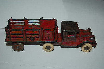 Antique A. S. Williams C to C C Co. Cast Iron Truck and Trailer Toy