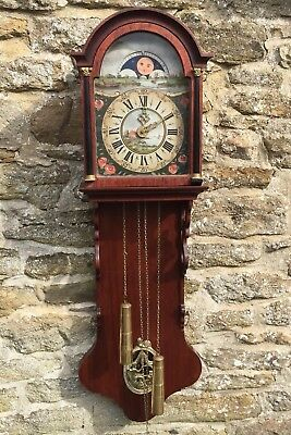 Superb German KIENINGER Twin Weight Regulator Wall Clock