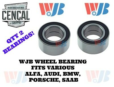2 Left+Right axle Front Wheel Bearing Ball Set for Porsche for Saab for Audi