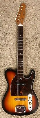 Hohner Telicaster 1960s Iconic MIJ w/OHC made in USA Prince's favorite guitar!