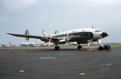 """Eastern Airlines Lockheed L-1049G Constellation N6232G 1961 8""""x12"""" Color Print"""