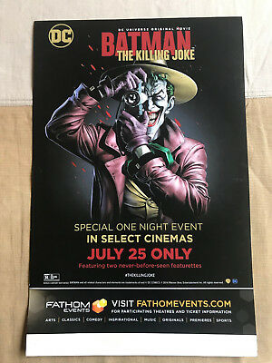 Batman The Killing Joke Animated Movie Official Mini Movie Poster