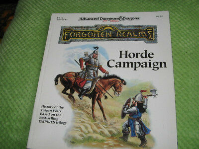 advanced dungeons & dragons 2nd edition horde campagin 9324 sehr gut