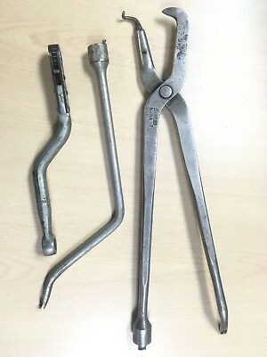 Snap On 131A & BT11 Brake Spring Remover Tools , & Snap-On AT68A Trans Ratchet