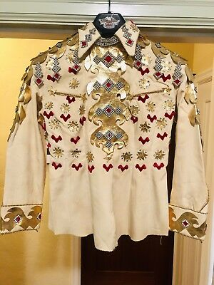 Vintage Western Rhinestone Parade Suit/outfit