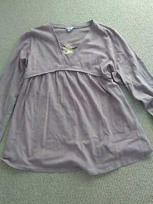 Maternity set top/blouse/shirt and pants sz 8/10 (when not pregnant)
