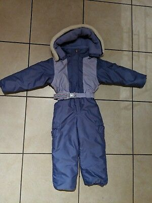 Thick Winter Girls Snowsuit Age 5 6 7 warm skiing snowboarding - Couloir brand