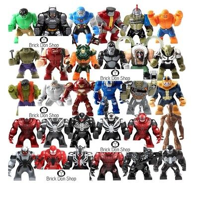 Custom Big Minifigures - fit LEGO® Marvel™ / DC™ Super Heroes™ Avengers™