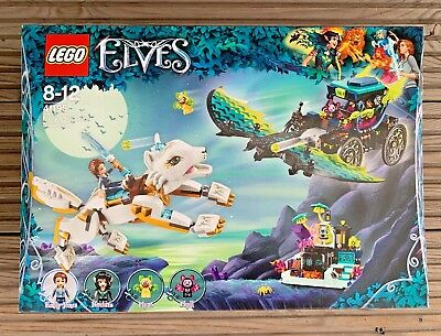 LEGO Elves 41195 Emily & Noctura's Showdown –New & Sealed –FREE UK Delivery