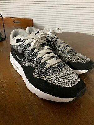 ea52d2466ea12 NIKE AIR MAX 1 Flyknit Vintage Rare OG Neon Infrared grape Plus ...