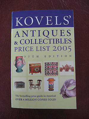 Kovels Antiques & Collectibles Price List 2005