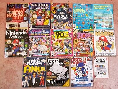 Retro Gamer magazines Bundle COLLECTERS editions 14 Magazines