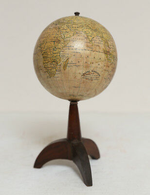 Italian World Globe on Stand Circa 1920