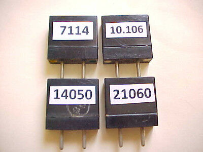 4-Pack Ft-241 Qrp Modified Ham Radio Crystals 15/20/30/40 Meters Tested