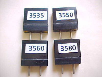 4-Pack Ft-241 Qrp Modified Ham Radio Crystals 80M Tested