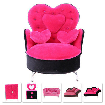 Furniture Model For 12 Action Figure Doll House Couch Mini Miniature Dollhouse