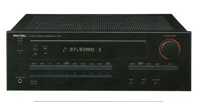 Receiver Stereo 2x100W Model ROTEL RX975  Used in Good Condition