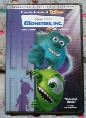 Monsters, Inc. (DVD, 2002, 2-Disc Set, Collectors Edition) *** Like New