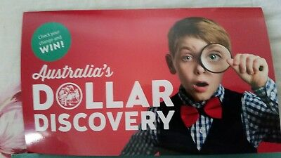 Australia 2019 $1 One Dollar Red  Discovery Collector Coin Folder with magnifier