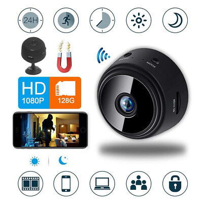 A9 HD Mini Camera 1080P IP Spy WIFI Wireless Hidden Security Night Vision Cam