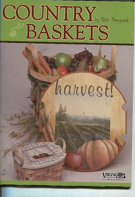 PAINTING BOOK -  COUNTRY BASKETS by Bob Pennycook