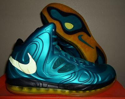 b7554a022c6 New Nike Air Max Hyperposite KD Foamposite Shoes Tropical Teal Yellow Size  11 US
