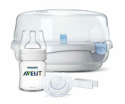 Philips AVENT Microwave Steam Steriliser Set, Free Delivery in 3 days