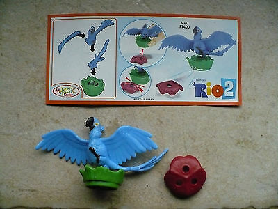 Ü EI, Magic 2014 Rio 2 – Figur Blu, BPZ – MPG FT400, Spielzeug
