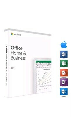 Microsoft Office Home and Business 2019 Fast Same Day Delivery