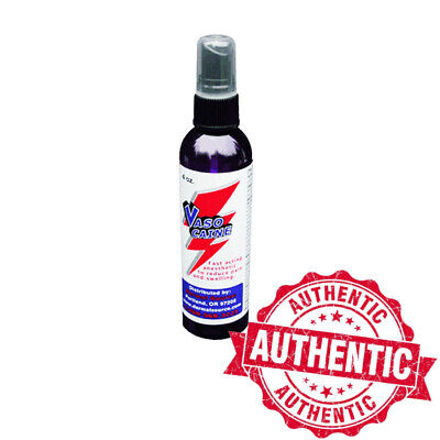 Vasocaine Topical Anesthetic Spray Fast Acting Pain Relief for Tattoos (4 Ounce)