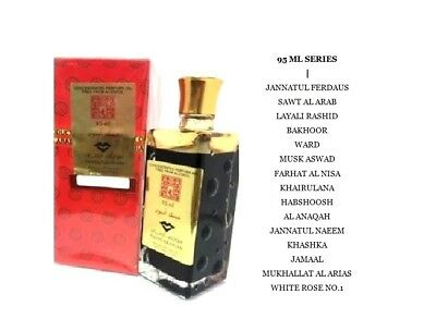 Swiss Arabian Exclusive 95Ml Series Attar Concentrated Perfume Oil Habshoosh