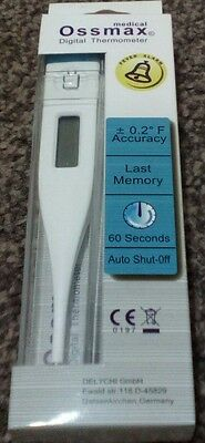 Digital LCD Thermometer Medical Baby Adult Body Safe Ear Temperature Oral alarm