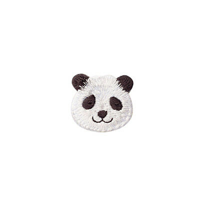 DIY Dog Rabbit Panda Animal Embroidery Sticky Patch Clothing Iron Accessories N7