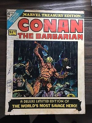 Conan The Barbarian Marvel Treasury Edition #4 Barry Windsor Smith
