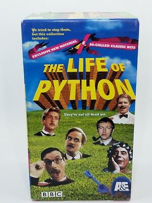 Monty Python: The Life of Python - VHS TAPE Boxed Set FLIEGENDER ZIRKUS