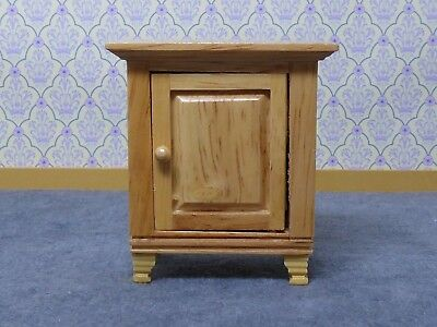 Dolls House Miniature 1:12 Scale Furniture Small Pine Cabinet Bedroom Bathroom
