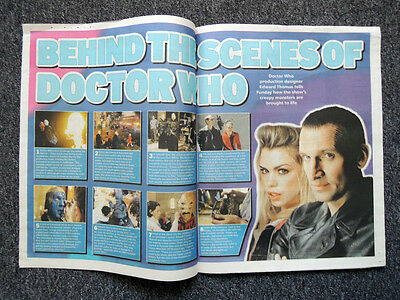 The Sunday Times Newspaper Supplement 17 Apr 2005 . Doctor Who Photo Feature